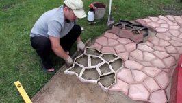 Форма для заливки бетона 8 букв