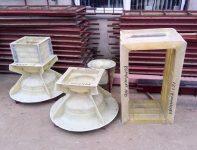 Формы из стеклопластика для бетонных изделий