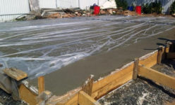 Накрывание бетона тандыр из бетона