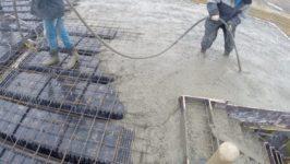 Вибрация бетона при заливке