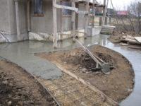 Залив дорожек бетоном керамзитобетон это ячеистый бетон или нет