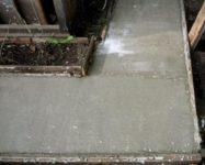 Заливка дорожки бетоном нс бетон