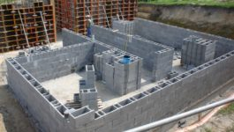 Заливка блоков бетоном бетон казани