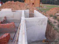 Строительство дома из пеноблоков с цокольным этажом