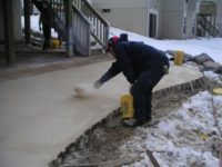 Самонагрев бетона бетонная смесь арб 10