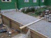 Залить пандус бетоном купить бетон в моршанске