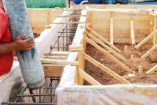 Поэтапная заливка бетона купить бетон по киевскому шоссе