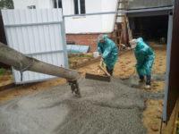 самонагрев бетона