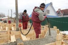Процесс вибрация бетонной смеси купить бетон в павловском посад