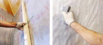 Как правильно укладывать пароизоляционную пленку на стены?