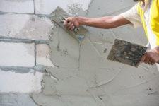 Пеноблок можно штукатурить цементным раствором бой бетона купить в казани