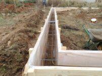 Поэтапная заливка бетона цементный раствор пк3