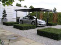 Устройство парковки под автомобиль на даче