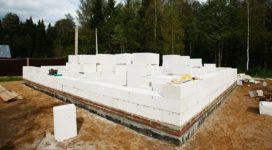 Фундамент плита для дома из пеноблоков