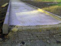 Заливка дорожки бетоном раствор готовый отделочный цементный гост