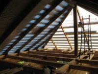 Устройство холодного чердака двускатной крыши
