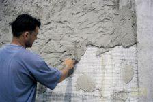 Штукатурка пеноблока цементным раствором
