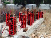 Щитовая опалубка для колонн