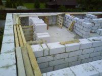 Этапы строительства дома из пеноблоков